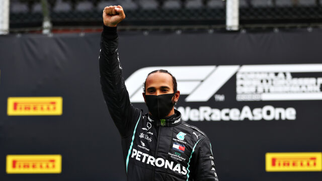 """Hamilton atakuje Ferrari za brak zaangażowania w walkę z rasizmem. """"Nie usłyszałem choćby kilku słów"""""""