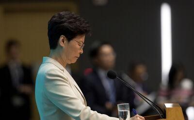 Szefowa władz Hongkongu przeprasza za sprawę nowelizacji prawa ekstradycyjnego