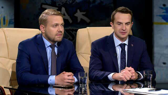 Jacek Ozdoba i Adam Szłapka w Tak Jest
