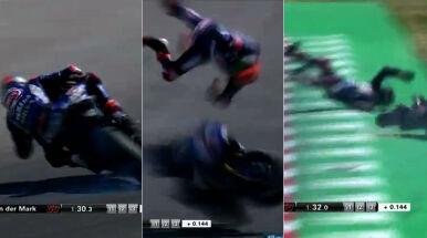Fatalny wypadek motocyklisty na włoskim torze. Poważne obrażenia Holendra