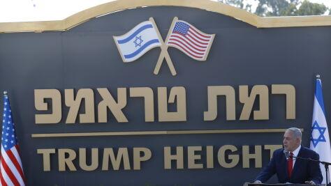 Izrael wdzięczny Trumpowi. Jego imieniem nazwano osadę
