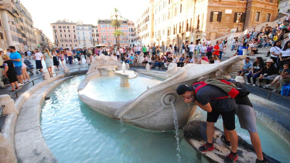 Wysokie grzywny za kąpiele w fontannach