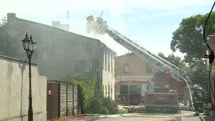 Pożar na poddaszu, jednej osoby nie udało się uratować