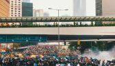 Protesty w Hongkongu. Zdjęcia z drona