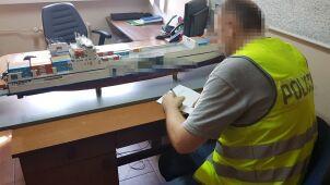 Podczas targów w Monachium zniknął model frachtowca. Odnalazł się w Polsce