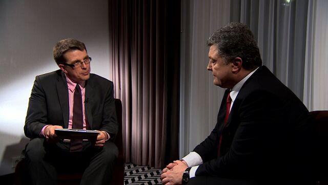 Poroszenko w TVN24 BiŚ: wysłałem list do Władimira Putina, będzie musiał mi odpowiedzieć