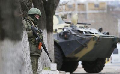 Ukraiński oficer: Wszędzie Rosjanie. Namawiają, żeby przejść na ich stronę
