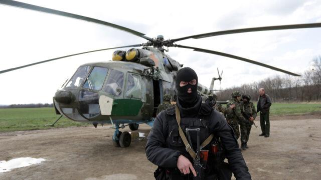 Separatyści zestrzelili ukraiński śmigłowiec. Na pokładzie był generał