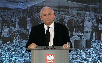 Kaczyński: mieliśmy do czynienia z bólem lepszej części narodu, ale też eksplozją zła