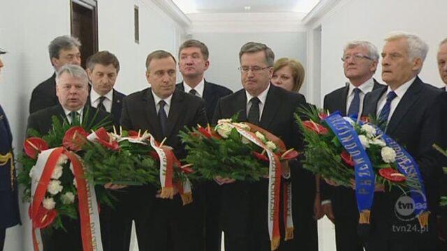 Kwiaty w Sejmie (TVN24)