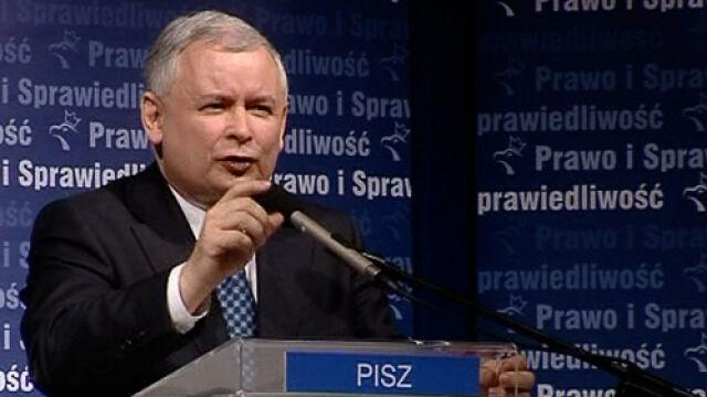 Jarosław Kaczyński przekonuje, by głosować na... PO