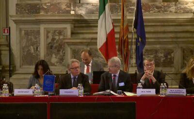 W Wenecji bez przedstawiciela rządu. Dziś opinia ws. ustawy o Trybunale