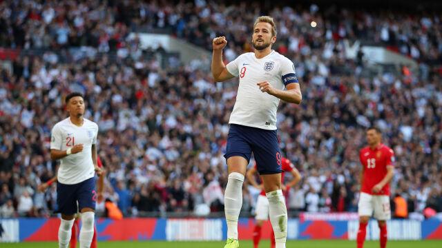 Anglia rozbiła Bułgarię na Wembley. Hat-trick Kane'a