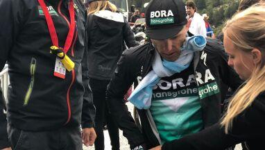 Apokalipsa na trasie Vuelta a Espana.