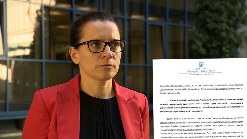 Iustitia: jest podstawa do uznania, że postępowania dyscyplinarne są nieważne
