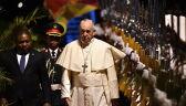 Papież Franciszek przybył do Mozambiku