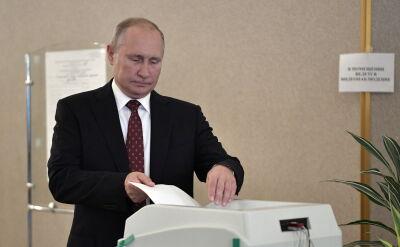 Putin zagłosował w wyborach do moskiewskiej Dumy