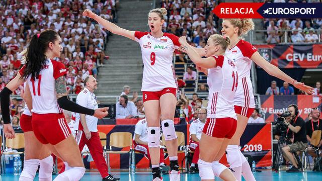 Niemki pokonane. Polki mająpółfinał mistrzostw Europy [RELACJA]