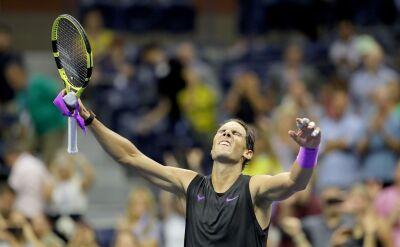 Nadal po awansie do finału US Open