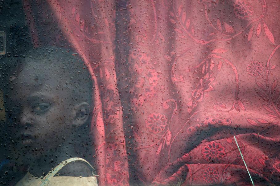 14 maja 2017, Sudan Południowy. Dziecko w drodze do obozu uchodźców w Ugandzie