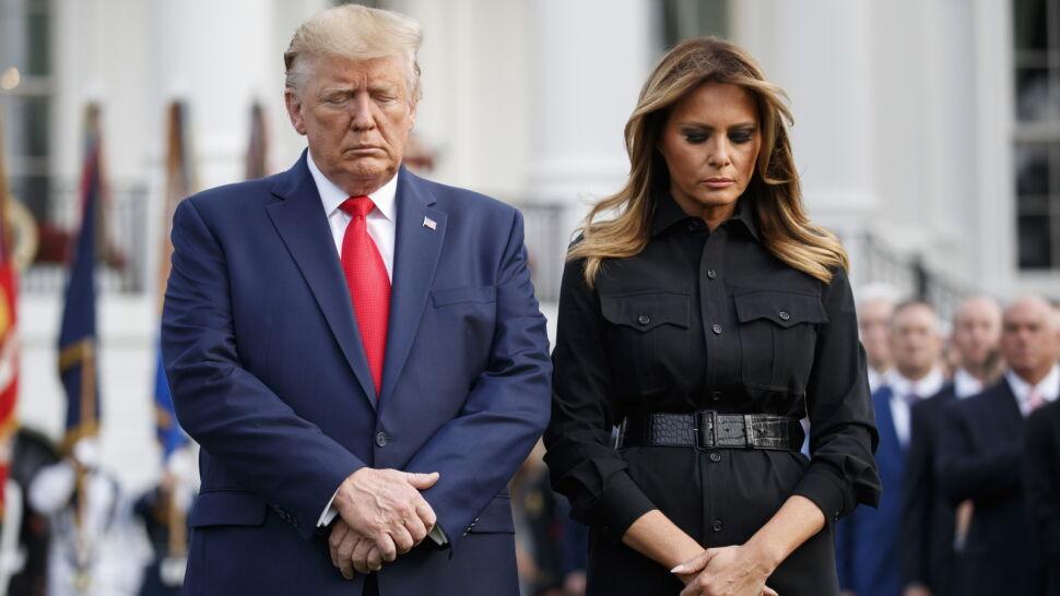 """""""Dzień szoku, przerażenia i wściekłości"""".  Trump upamiętnił ofiary zamachów 11 września"""