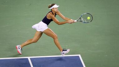 Porażka Linette w pierwszej rundzie w Pekinie