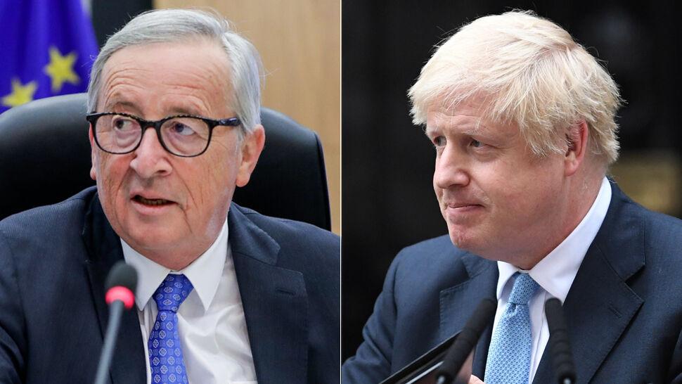 """Johnson będzie rozmawiał z Junckerem. Lunch w """"neutralnym"""" miejscu"""