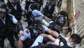15. weekend protestów w Hongkongu