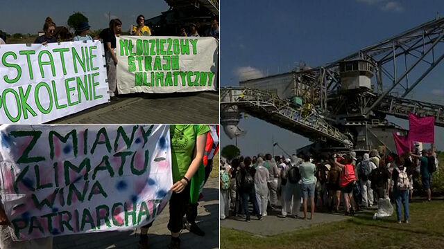 Protest przed kopalnią odkrywkową. 88 osób wylegitymowanych