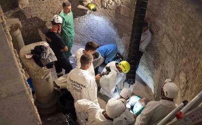Wydobyto kości z watykańskich grobowców