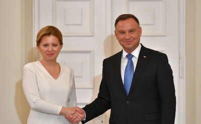 Czaputova: Polska była wielką inspiracją