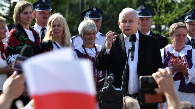 Kaczyński o porażce Szydło: zapłaciła, bo jest reprezentantką katolickiego kraju