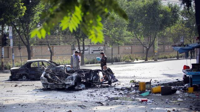 Studenci czekali na egzamin, kiedy eksplodowała bomba