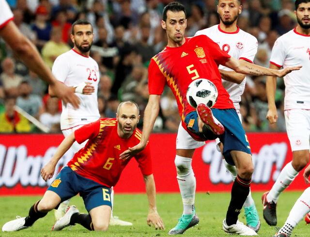 Hiszpańskie męki. Pierwszy celny strzał i gol w drugiej połowie