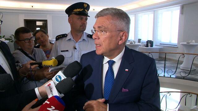 Karczewski: władze klubu i sam pan poseł Pięta podejmą pewne decyzje i myślę, że to będzie niebawem