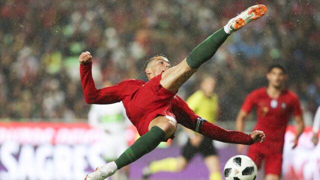 ece872cd1 Portugalczycy pokonali towarzysko Algierię 3:0 | Eurosport w TVN24 ...