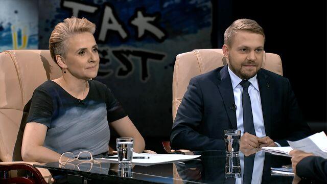 Joanna Scheuring-Wielgus i Jacek Ozdoba
