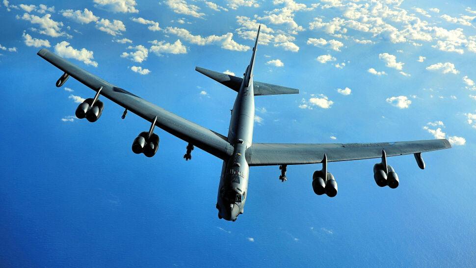 Amerykańskie bombowce ćwiczyły nad Litwą