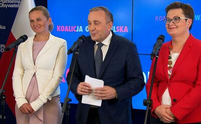 """Liderzy Koalicji Obywatelskiej przedstawiają """"jedynki"""" na listach wyborczych"""