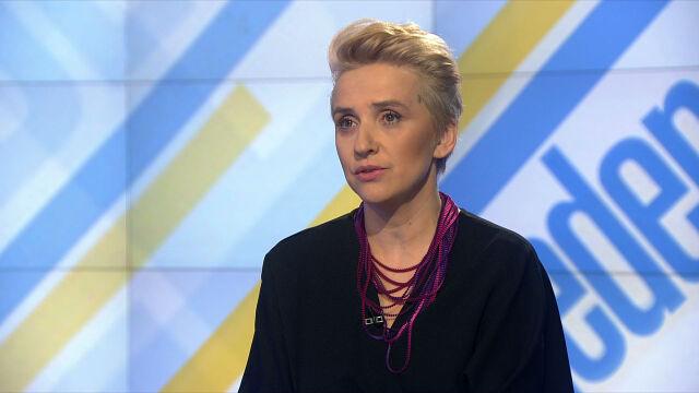"""Joanna Scheuring-Wielgus w """"Jeden na jeden"""""""