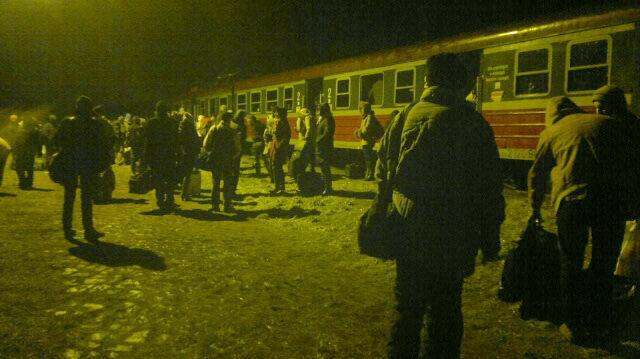 Pasażerowie pociągu widmo utknęli w Pawłowie na wiele godzin
