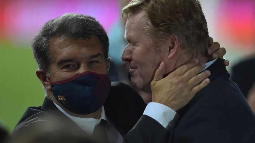 """Prezydent Barcelony o absurdalnej konferencji  Koemana. """"Dowiedzieliśmy się w ostatniej chwili"""""""