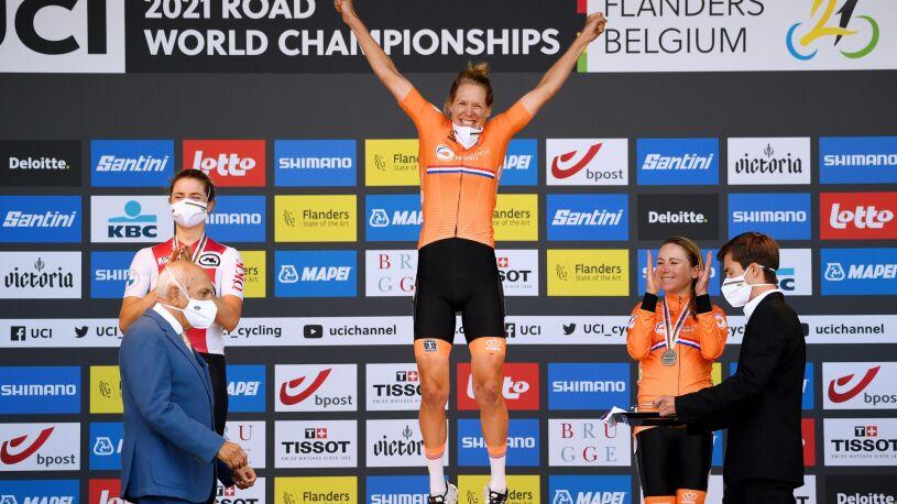 Holenderki zdominowały czasówkę na mistrzostwach świata. Polki w środku stawki