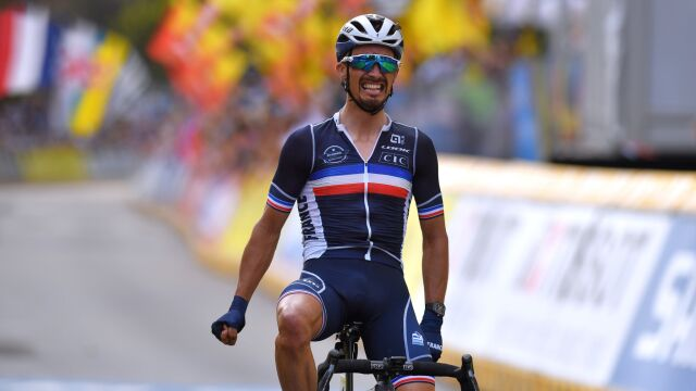 Julian Alaphilippe obronił tytuł mistrza świata w kolarstwie