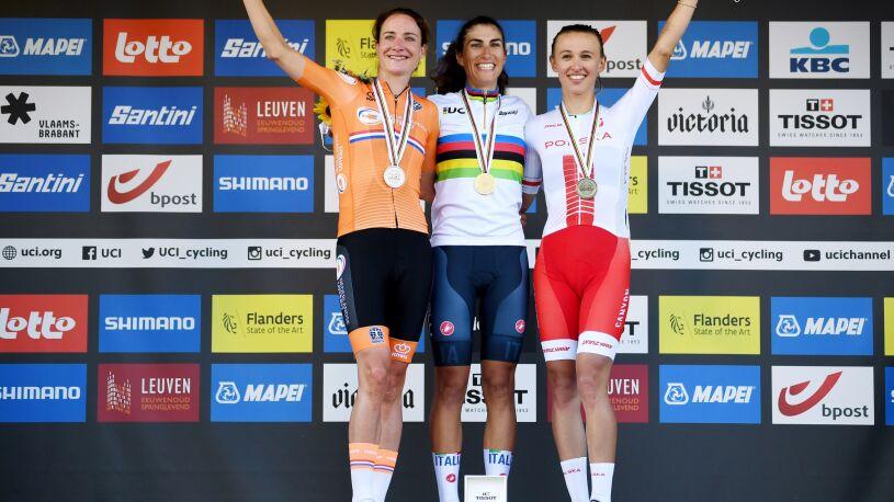 Niewiadoma z brązowym medalem mistrzostw świata w kolarstwie