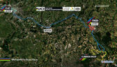 Trasa wyścigu elity kobiet na MŚ we Flandrii (bez dźwięku)