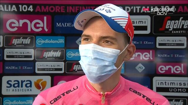 Valter po 6. etapie Giro d'Italia