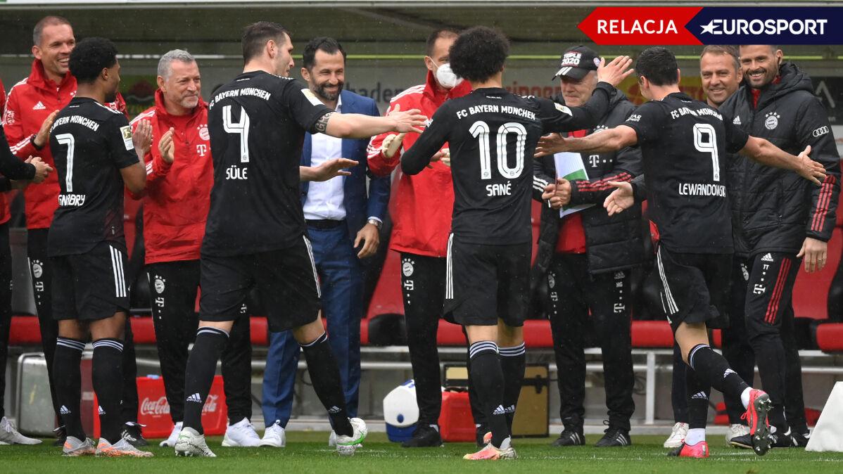 Lewandowski wyrównał rekord. Bayern szaleje