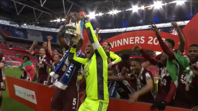 Skrót meczu Chelsea – Leicester w finale Pucharu Anglii