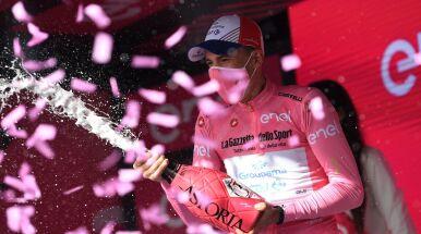 Pierwszy w historii lider Giro z Węgier. Niedawno startował w polskim zespole